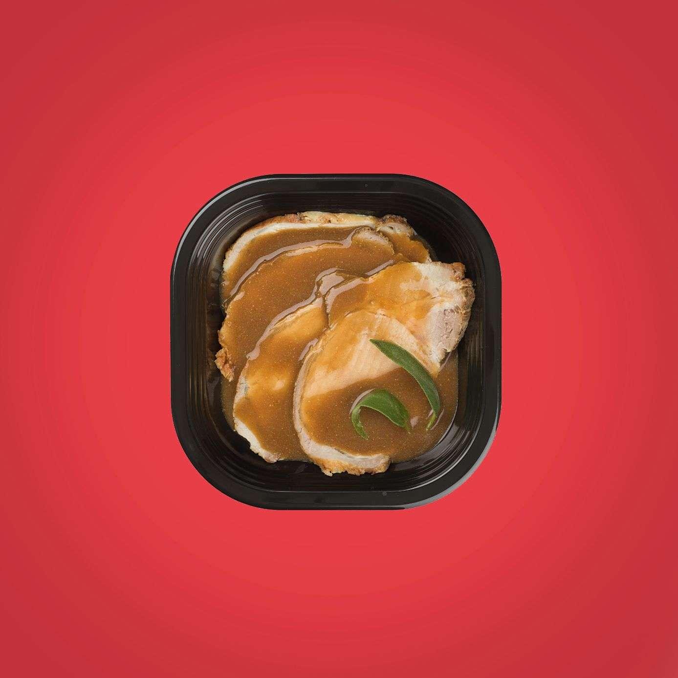 lonza di maiale alla senape piatto pronto a domicilio senza glutine
