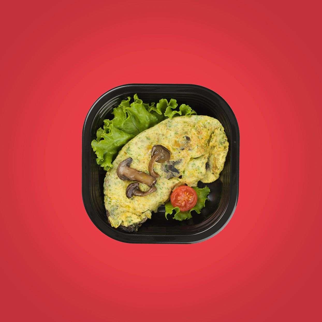 Frittata funghi e timo_8180 piatti pronti senza glutine a domicilio