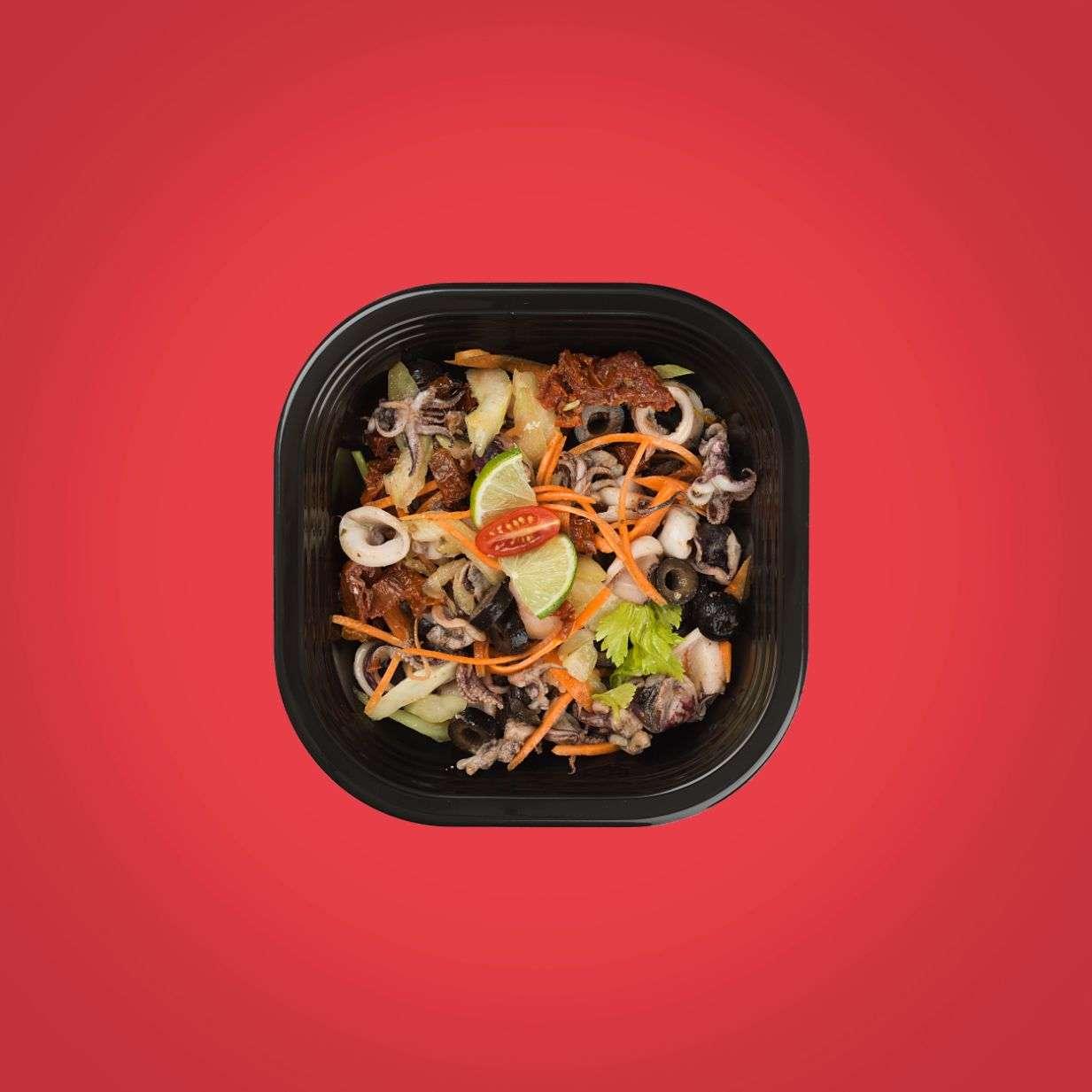 insalata di seppie scottate secondo piatto senza glutine a domicilio