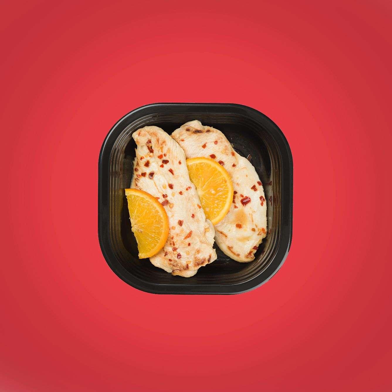 petto di pollo all'arancia piatto pronto senza glutine
