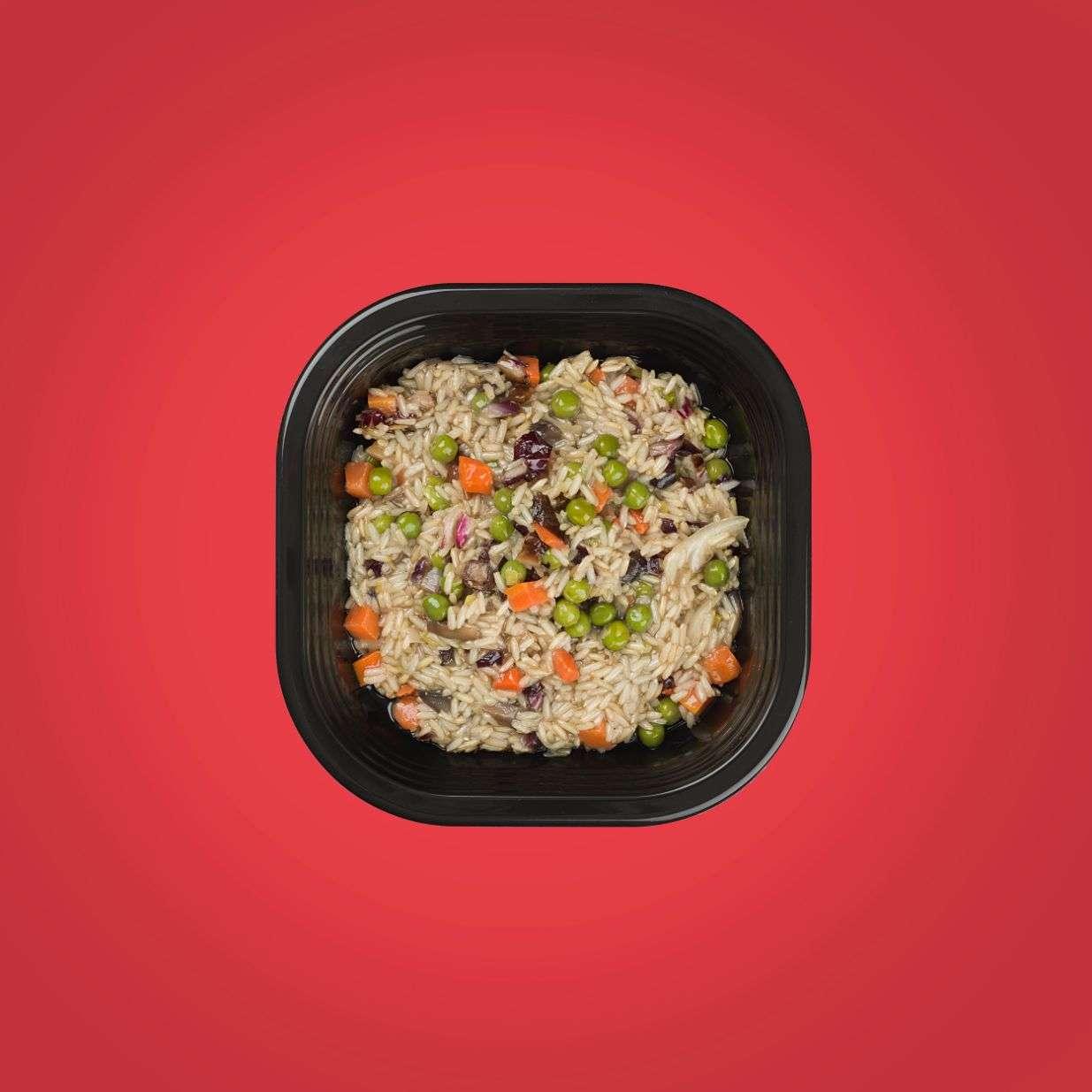 risotto pronto a domicilio risotto veg senza glutine